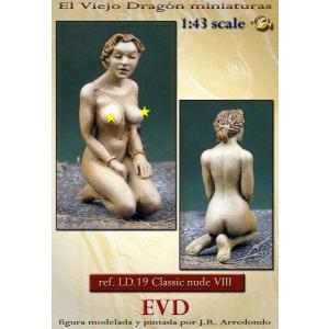 裸婦 #8 Classic nude # 8  1/43[LD19]|miniature-park
