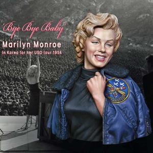 「バイバイ・ベイビー」 アメリカ軍慰問団のマリリン・モンロー 韓国 1954年
