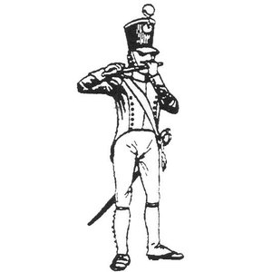 「フランス軍 軽歩兵」(メン・アット・アームズ#146)より 第10軽歩兵連隊 少年横笛手 1812年 Boy Fifer, 10th Light Infantry Regiment, 1812  54mm[MA0441B]|miniature-park