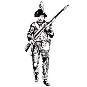 「フランス軍 イタリアでの作戦」より 騎銃兵 軽歩兵 1796年 Light Infantry Carabinier, wearing bicorn hat, carrying plundered food  54mm[MA1127]|miniature-park