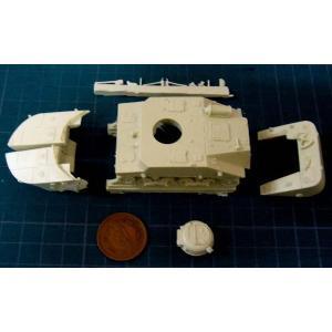 日本海軍 特二式内火艇 カミ車 #2(展望・換気塔無/フロート脱着可)(バトルフィールドシリーズ) ...