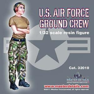 現用アメリカ空軍 女性グランドクルー   U.S. Air Force Female Ground Crew 1/32|miniature-park