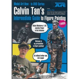 カルビン・タンのフィギュア・ペインティングDVD中級編(英語版・PAL形式/2枚組)  Calvin Tan's Intermediate Guide to Figure Painting - English edition|miniature-park