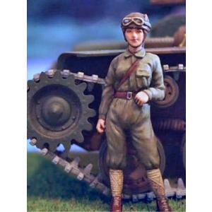 日本軍(帝国陸軍) 女性戦車兵 Japanese Army Tank Crew 1/35|miniature-park