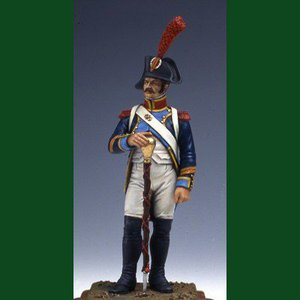 フランス軍 第18連隊 軍楽隊長 1805年 French Drum Major 1805 -CAPTB 54mm|miniature-park