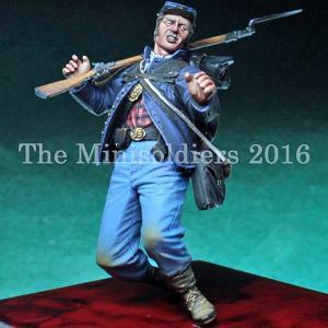 アメリカ南北戦争 北軍 被弾した兵士  Wounded Union  1/35|miniature-park