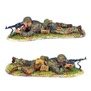 ドイツ軍 SS 装甲擲弾兵 スコープ付きSTG44突撃銃を持つ狙撃手   Waffen-SS Panzer Grenadier Sniper with Scoped STG 44  60mm [NOR025]|miniature-park