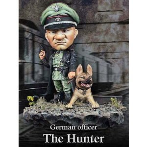*ドイツ軍 将校と猟犬 German officer, The Hunter 54mmSDスケール(全高:70mm)|miniature-park
