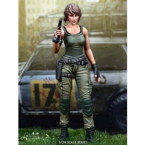 トリガーシーズ オーバーウォッチャー(特殊部隊の女性兵士)  Overwatcher  75mm|miniature-park