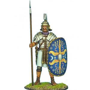 古代ローマ帝国 皇帝親衛隊(プラエトリアニ) 槍を持って立つ Imperial Roman Praetorian Guard Standing with Spear 60mm|miniature-park