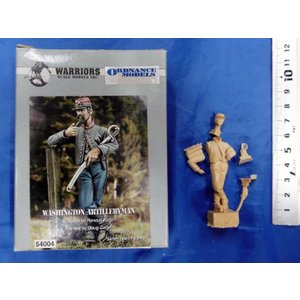 アメリカ南北戦争 北軍 ワシントン砲兵連隊   Washington Artileryman  54mm[WA54004]|miniature-park