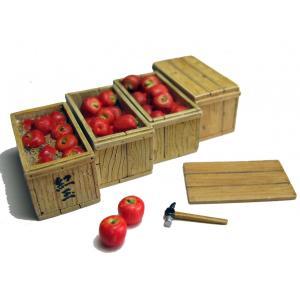 りんご箱セット(デカールは付属しません)  Apple boxes set  1/35【セール対象外】|miniature-park