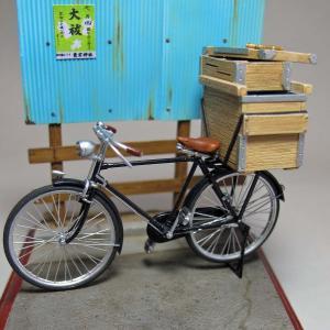 行商用豆腐箱セット(ダイオパーク アジアンクラシックバイシクル等対応)  Tofu box for peddling set for Diopark bicycle  1/35【セール対象外】|miniature-park