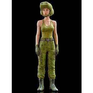 傭兵軍 女性パイロット   Independent Mercenary Army Female pilot   1/35【セール対象外】|miniature-park
