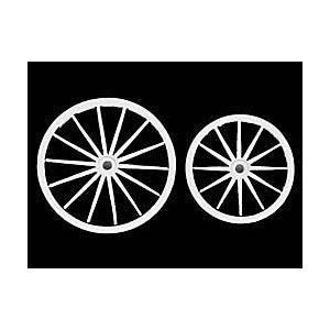 駅馬車の車輪 西部開拓時代(2個入)  Western Stagecoach Wheel  54mm[S4-A40] miniature-park
