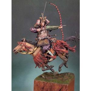騎馬武者 14世紀 Samurai Horseman XIVth.C. 90mm|miniature-park