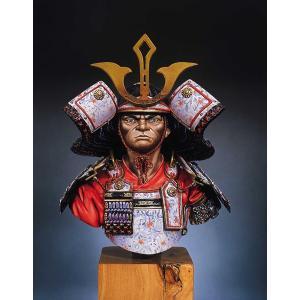 サムライ (1300年) Samurai Warrior, 1300  1/8バスト|miniature-park