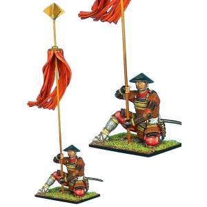 旗印を持つサムライ Samurai Standard Bearer 60mm[SAM033]|miniature-park