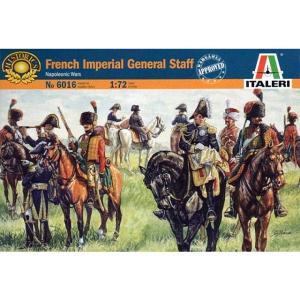ナポレオン戦争 フランス軍 参謀セット Napoleonic Wars French Imperial General Staff 1/72【ソフトプラスチック製】[SH-IT6016]|miniature-park