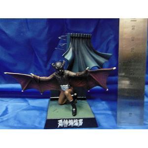 バンダイ ライダー怪人名鑑2-01 恐怖蝙蝠男 Kamen Rider Directory 2-01 Bat man 全高約8cm[SH-RL2-01]|miniature-park