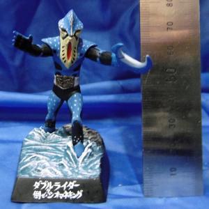 バンダイ ライダー怪人名鑑2-08 ダブルライダー倒せ!!シオマネキング Kamen Rider Directory 2-08 Fiddler crab man 全高約8cm[SH-RL2-08]|miniature-park