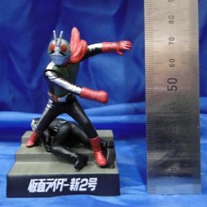 バンダイ ライダー怪人名鑑2-L 仮面ライダー新2号(シークレット) Kamen Rider Directory 2-L Shin-ni-gou (secret) 全高約8cm[SH-RL2-L]【返品・返品不可】|miniature-park