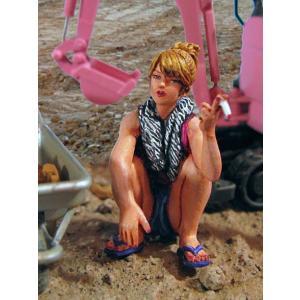 ヤンキーガール  Smoking Girl  1/32[SK-014]|miniature-park