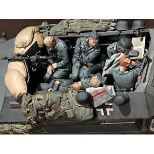 ドイツ軍 仮眠する装甲擲弾兵セット(6体入)Power Naps of Panzergrenadiers. 6 figures 1/35[SOGA-35SET13]【返品・返品不可】|miniature-park