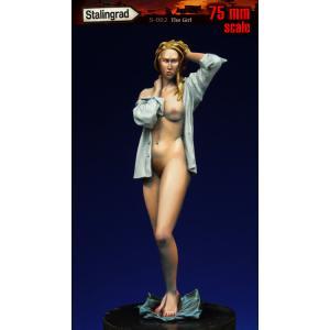 裸婦   Girl   75mm|miniature-park
