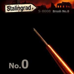 *コリンスキー 丸筆 0号  Round Brush No.0|miniature-park