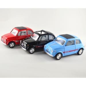Kinsmart/キンスマート FIAT 500 L フィアット 1/24 3色セット チンクェチェ...