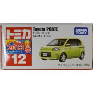 トミカ No.12 トヨタ ポルテ (箱) 新車シール付き2400010011641|minicars