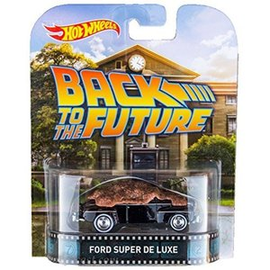 48 Ford Super De Luxe Back To The Future Hot Wheels 2015 Retro Series 1/64 2400010017629|minicars