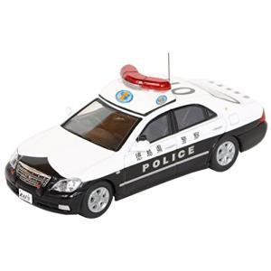 ヒコセブン RAI'S 1/64 トヨタ クラウン 180系 徳島県警察広域自動車警ら隊車両 2400010000713|minicars