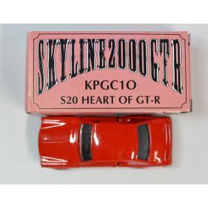 トミカ イイノ特注 日本製 スカイライン GT-R KPGC10 レッド ワイドタイヤ仕様  2400010008290|minicars