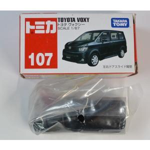 トミカ No.107 トヨタ ヴォクシー (箱)  2400010010293|minicars