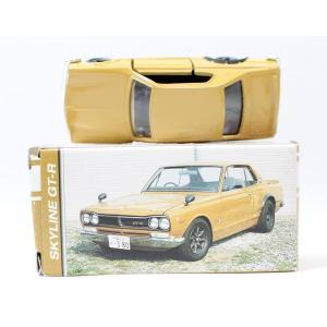 トミカ ガリバー特注 スカイライン GT-R KPGC-10 黄土色 2001年製 2400010016530|minicars