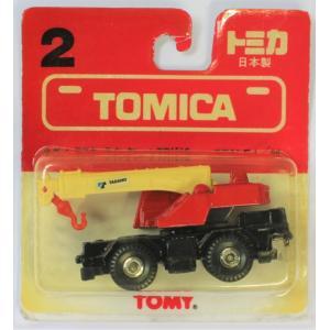 トミカ  日本製 2 タダノ ラフターラインクレーン TR151S ブリスターパック 黄ばみ2400010021695|minicars