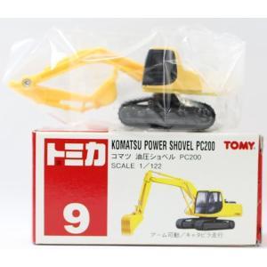 トミカ 9 コマツ 油圧ショベル PC200 1/122  2400010028649