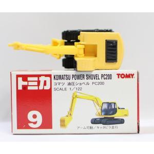 トミカ 9 コマツ 油圧ショベル PC200 1/122 2400010041853