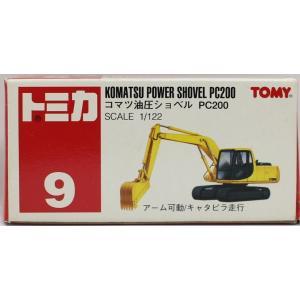 【USED】トミカ 9 コマツ 油圧ショベル PC200 1/122 240001006316