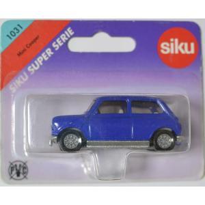 siku 1031  ミニクーパ  ブルー 車体寸57mm 管理番号H123|minicars