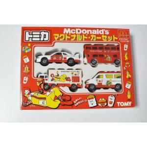 トミカ マクドナルド カーセット McDonald's  ギフト4台セット 1998 G311