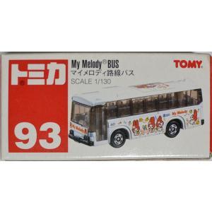 トミカ 赤箱93 マイメロディ路線バス SCALE1/130