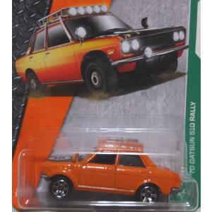 マッチボックス ミニカー  70 DATSUN 510 RA...