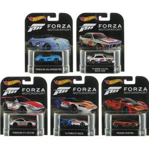ホットウィール ミニカー レトロエンターテイメント FORZA フォルツァ 5種セット