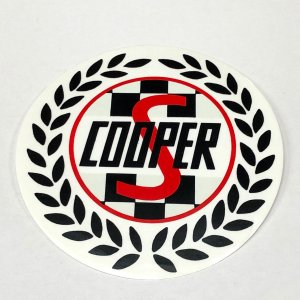 COOPER S ステッカー 大|minimaruyama