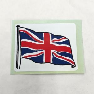 英国旗 ステッカー|minimaruyama