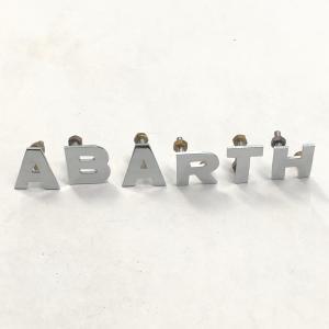 【現品】 ABARTH エンブレム minimaruyama