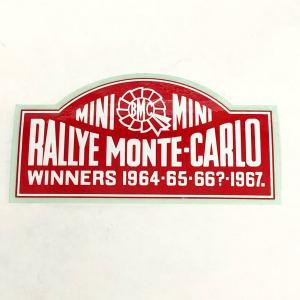RALLYE MONTE CARLO ステッカー|minimaruyama
